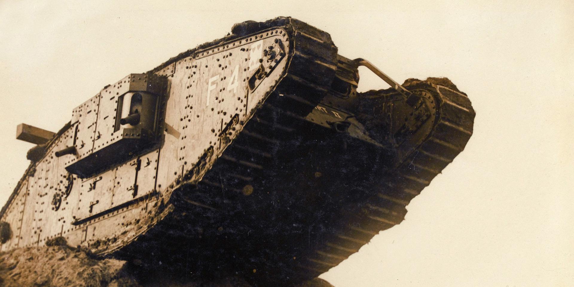 British Mark IV female tank, 1917