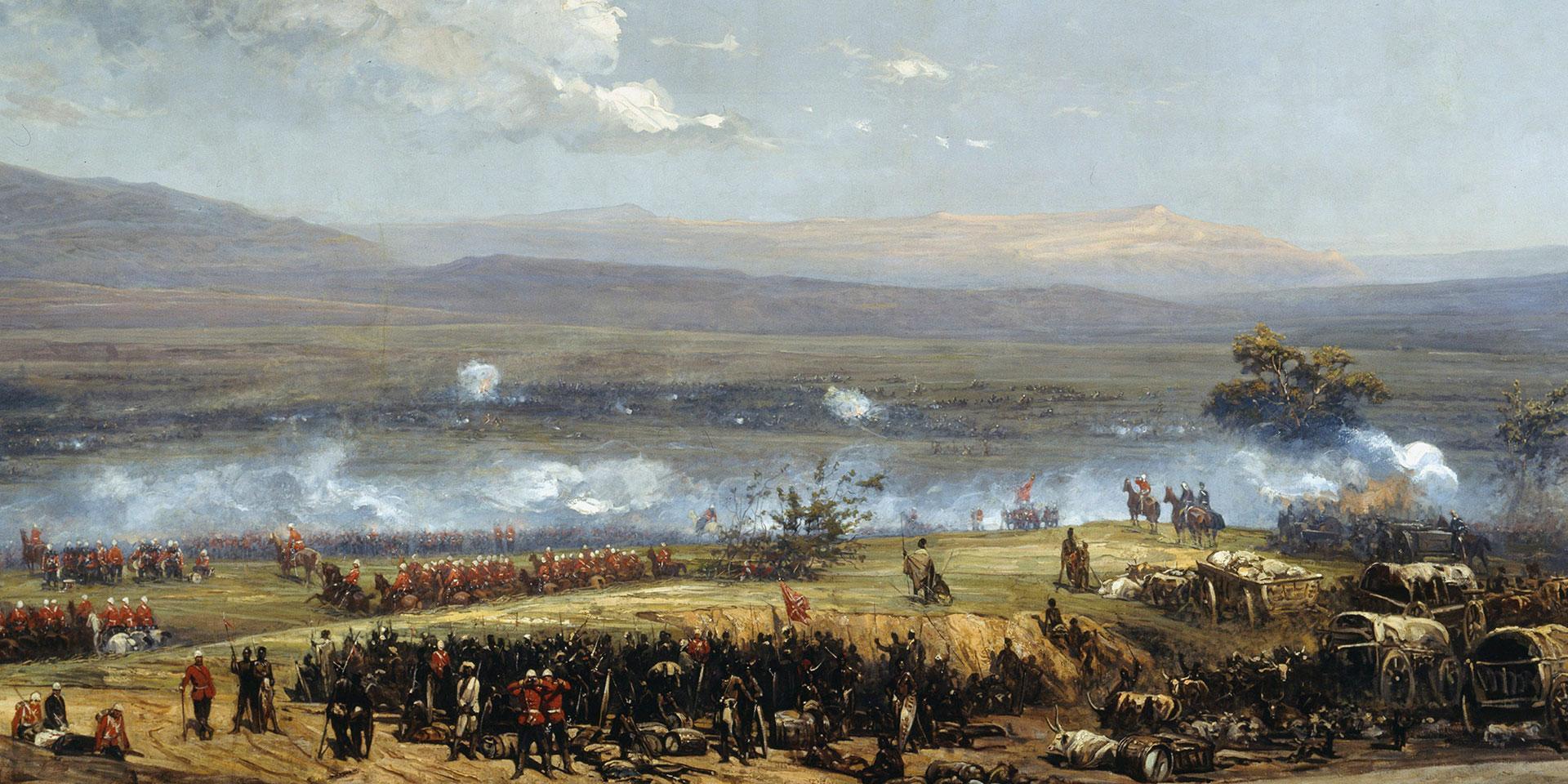 The Battle of Ulundi, 1879