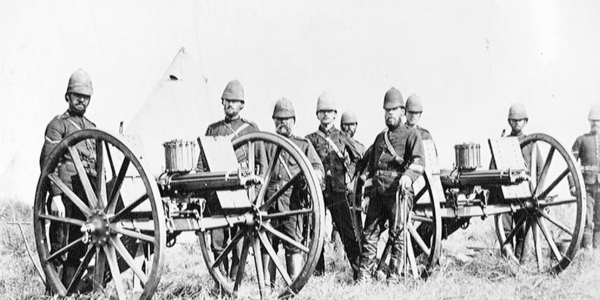 Gatling guns, 1879