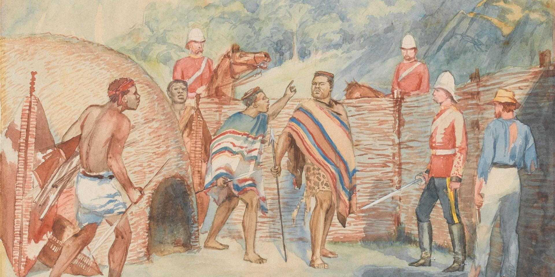 The capture of Cetshwayo, August 1879