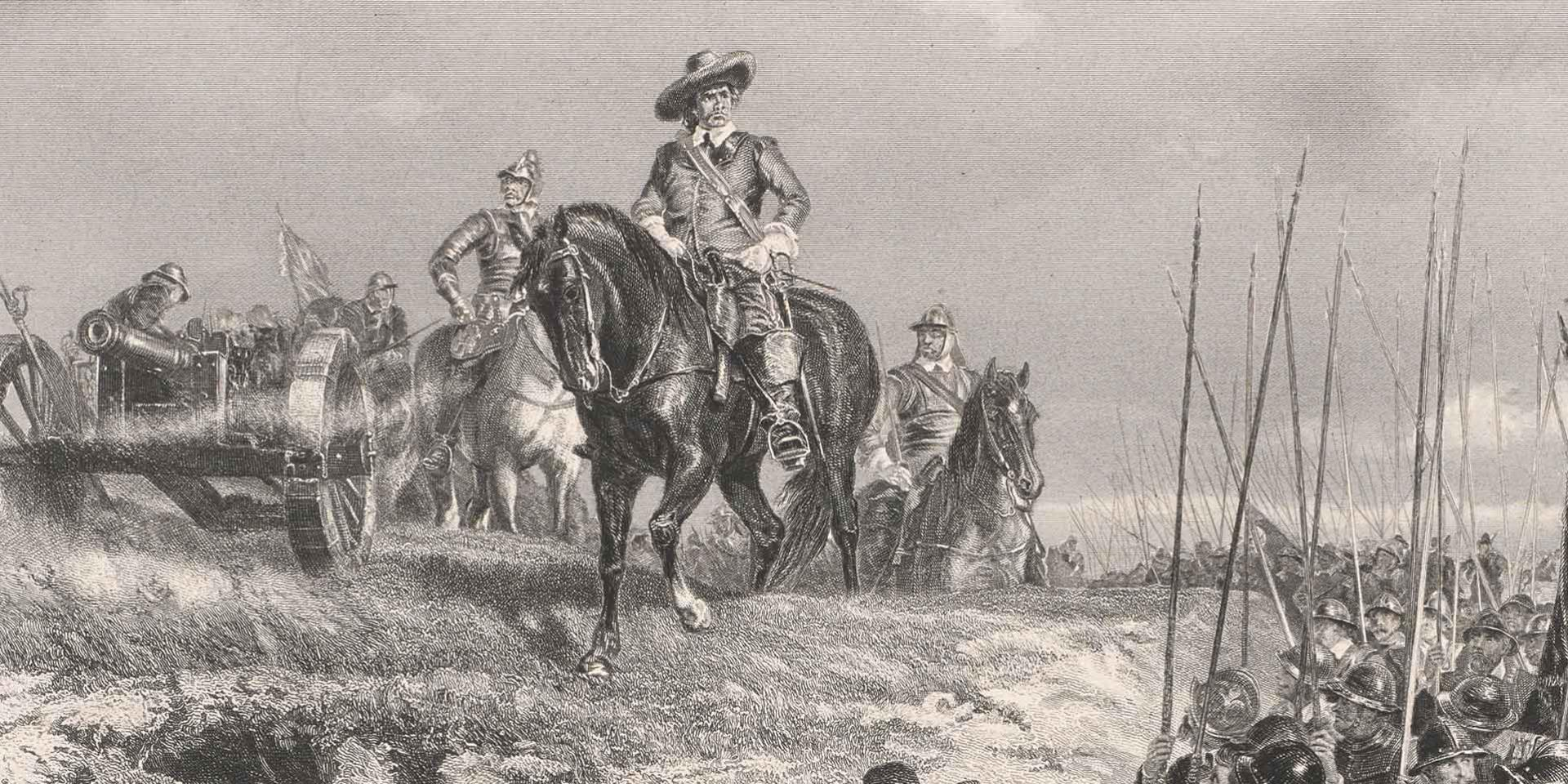 General Oliver Cromwell at Marston Moor, 1644