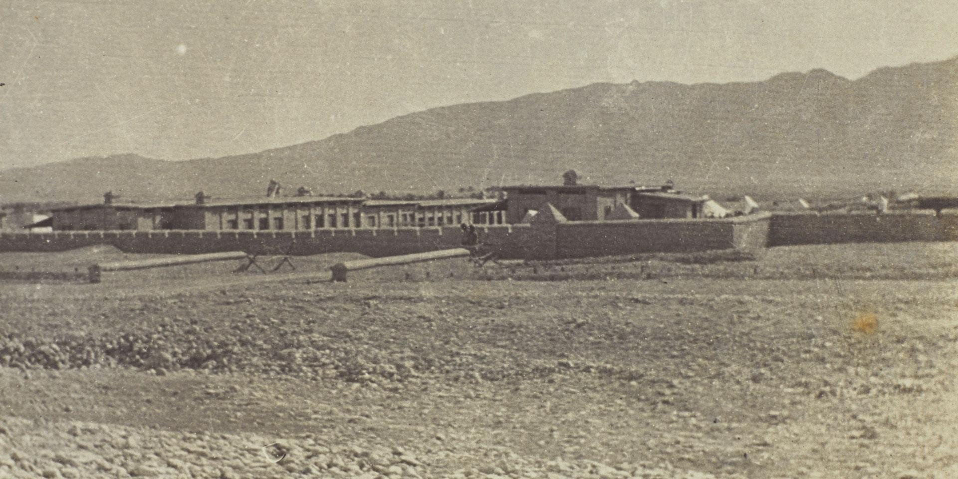 Fort defended by the South Persia Rifles, 1918