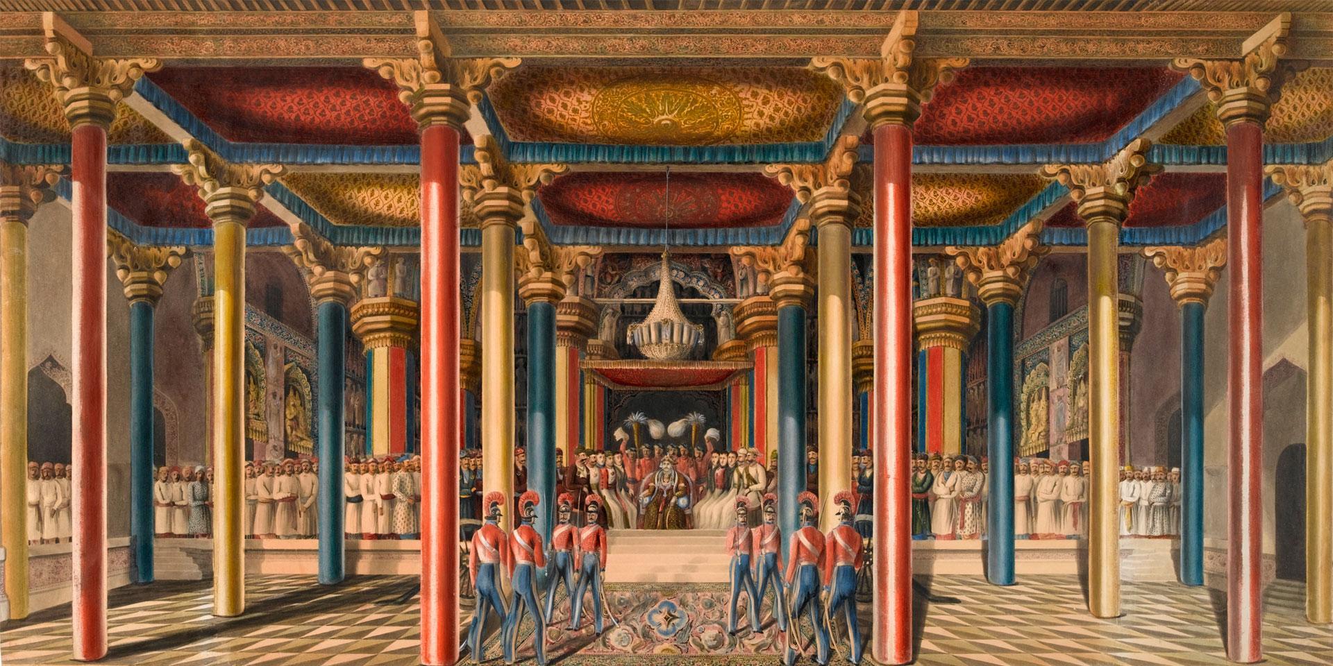 The Tanjore Durbar, Madras, February 1840