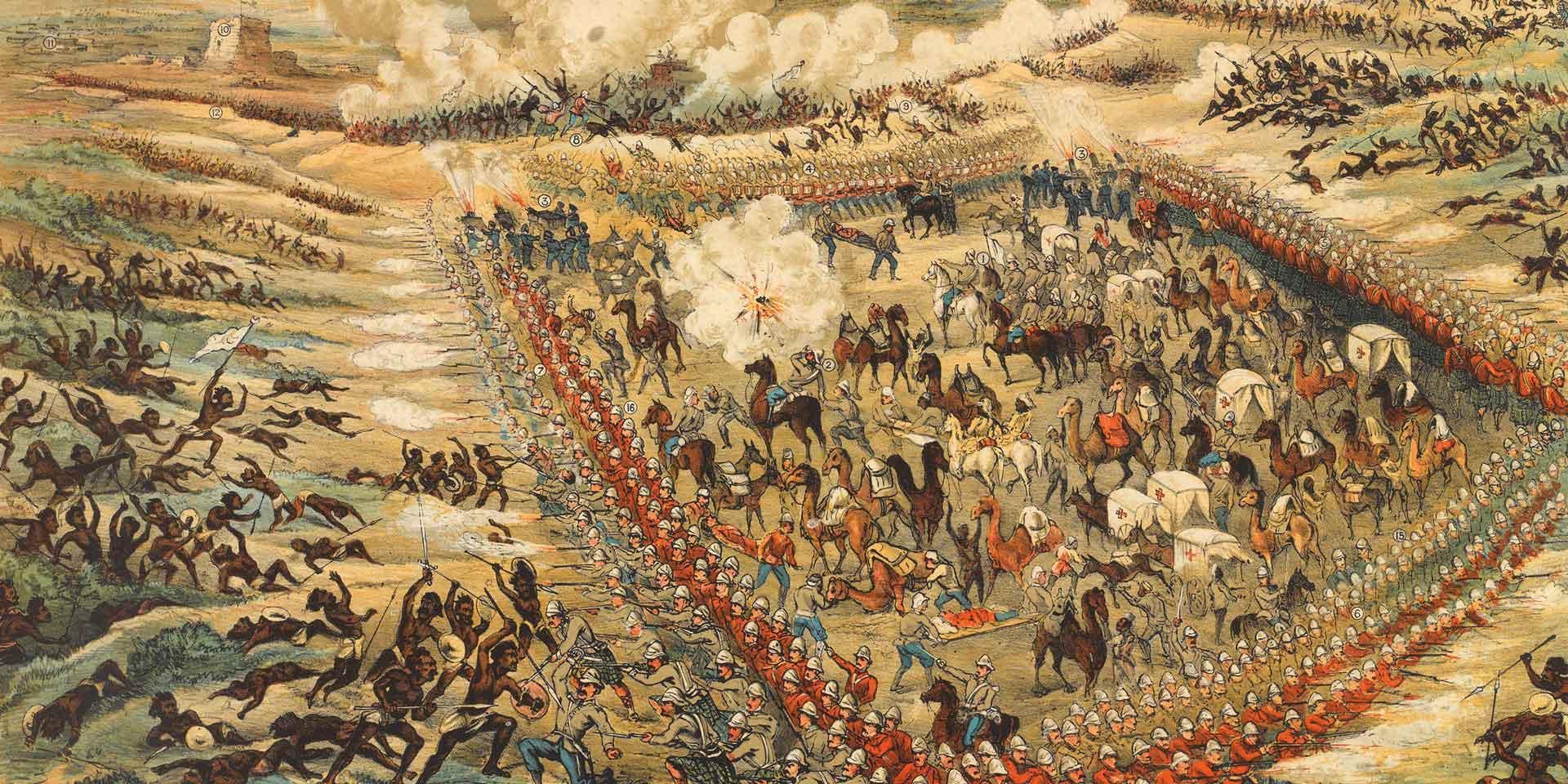 The Battle of El Teb, 1884