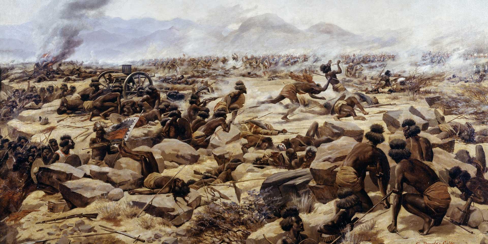 The Battle of Tamai, 1884