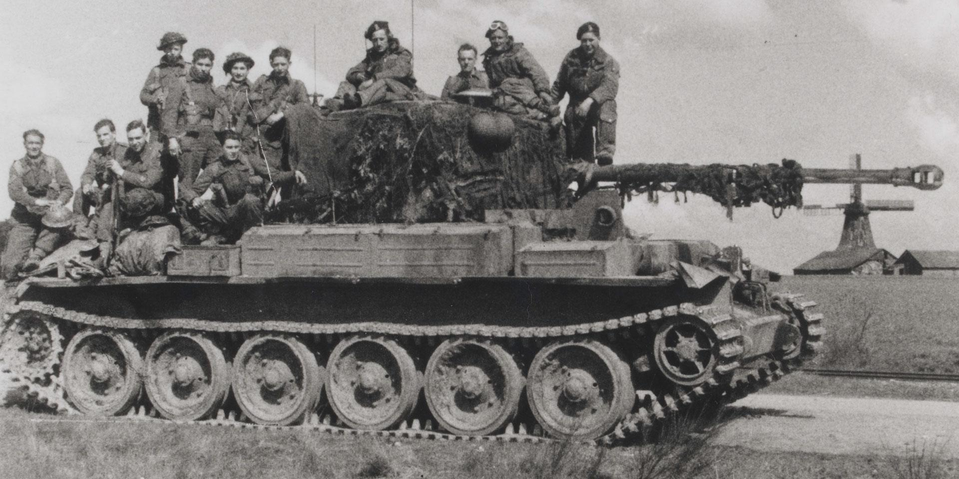 Challenger tank of 15th/19th King's Royal Hussars, 1945
