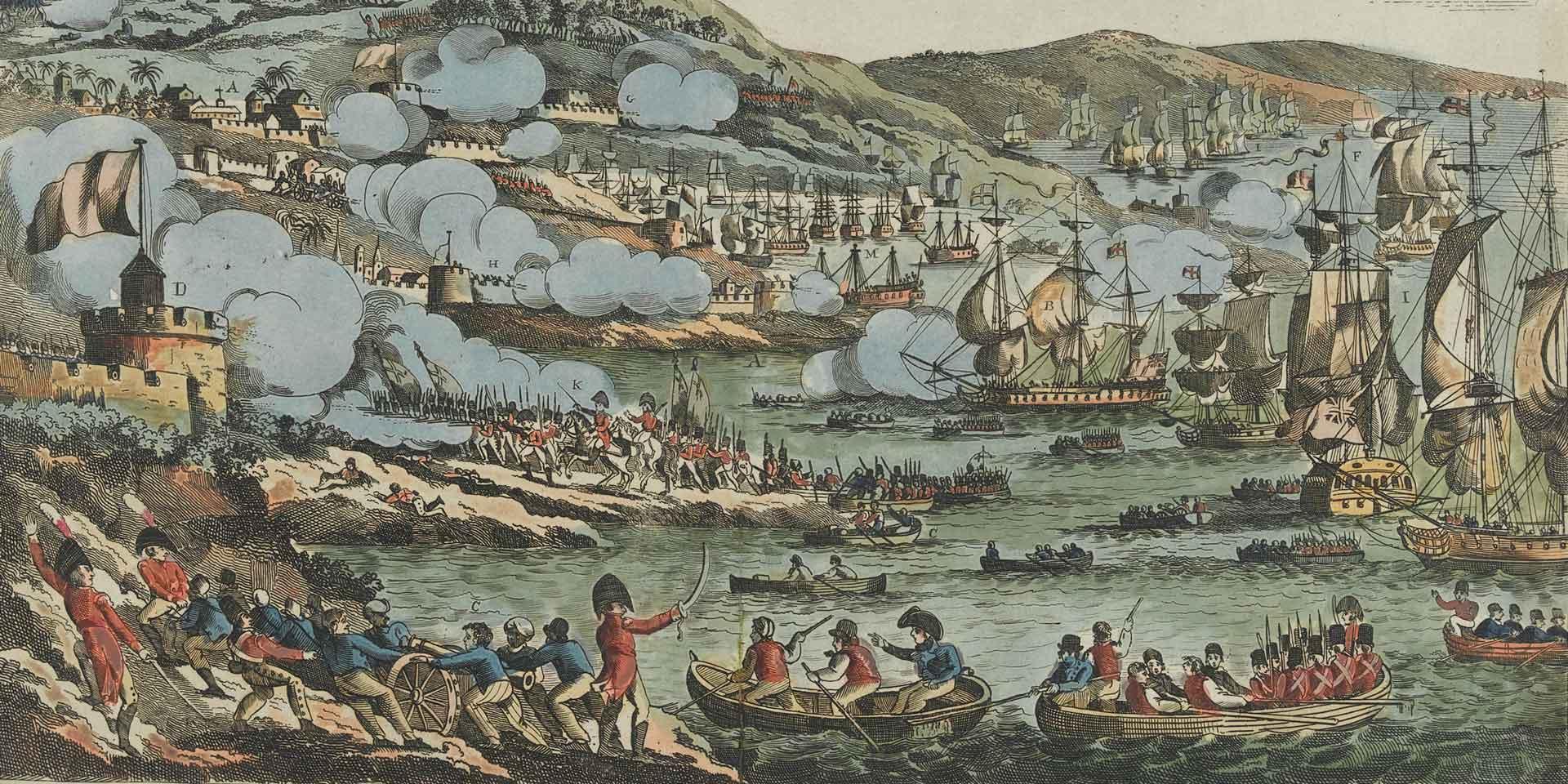 The British capture of Mauritius, 1810