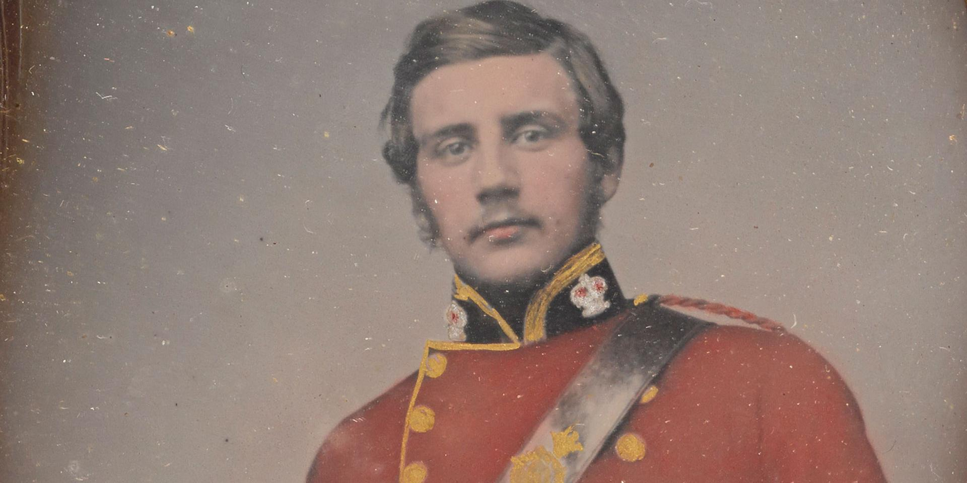 Surgeon James Thompson, 100th (Prince of Wales's Royal Canadian) Regiment of Foot and Army Medical Staff, 1860