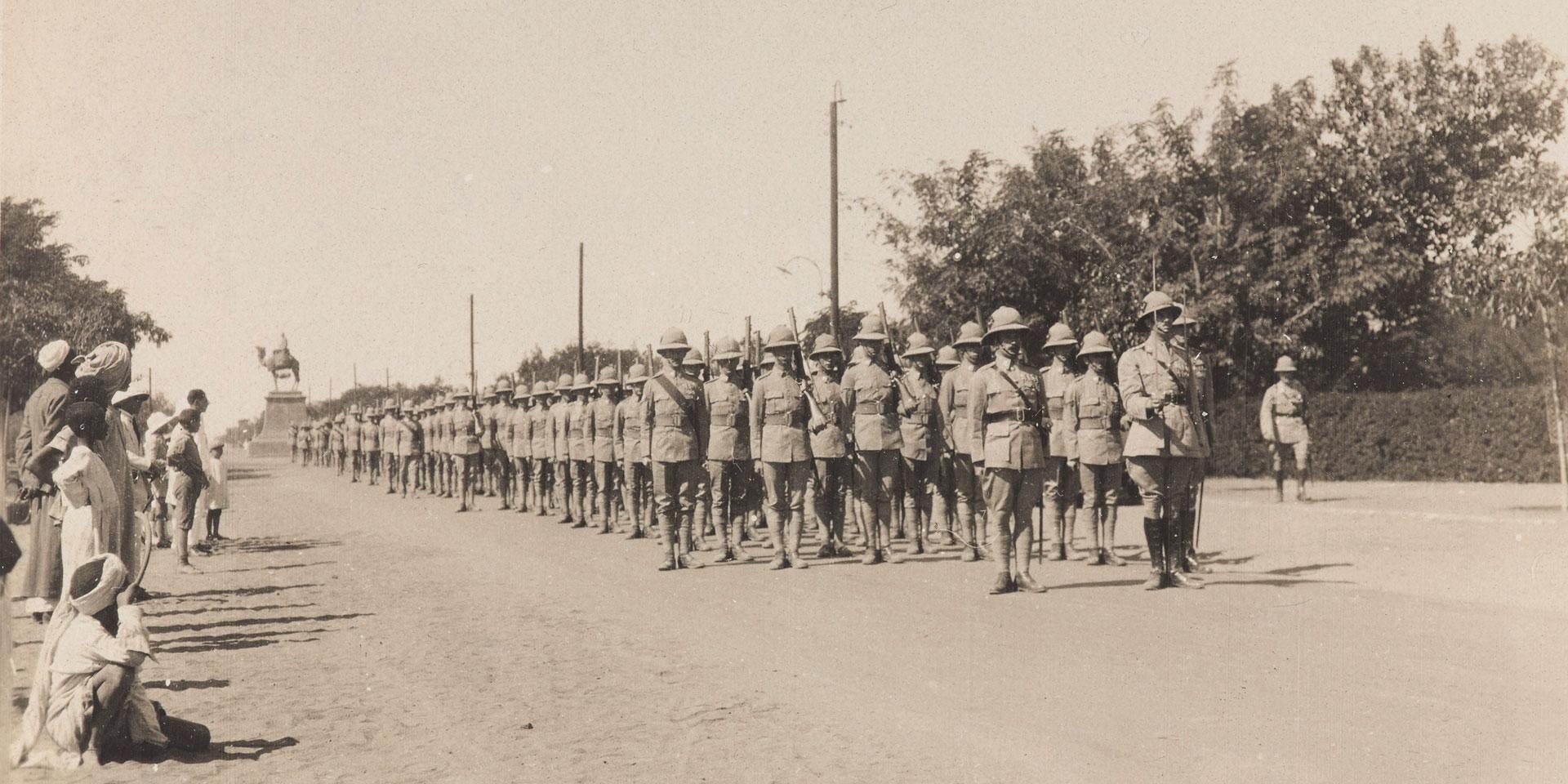 2nd Battalion The Queen's Royal Regiment (West Surrey) in Khartoum, 1927