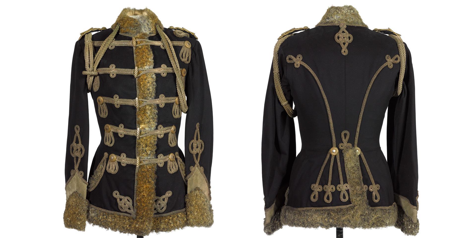 Pelisse, 3rd Zieten Hussars, worn by The Duke of Connaught, 1900s