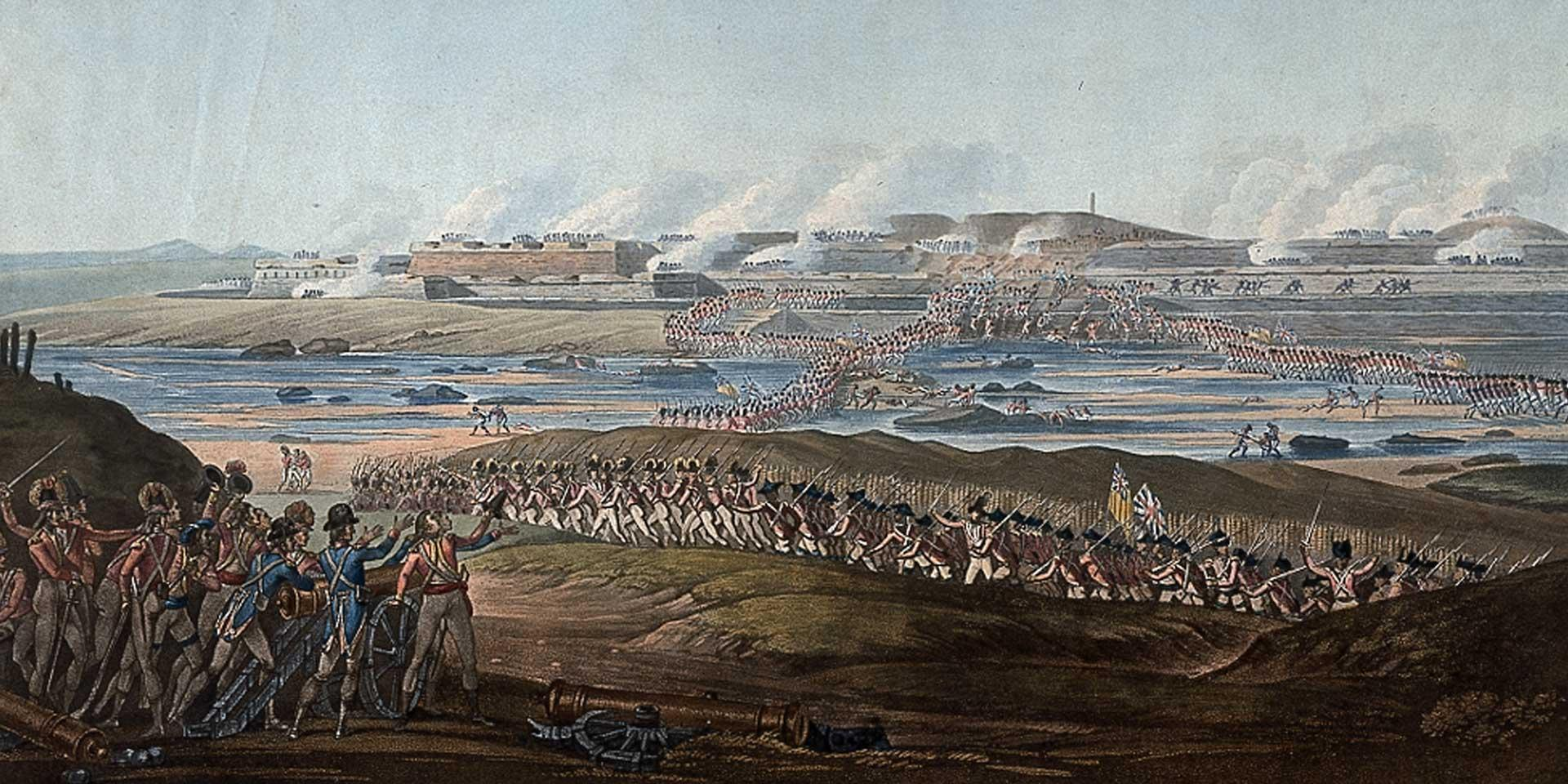 The assault of Seringapatam, May 1799