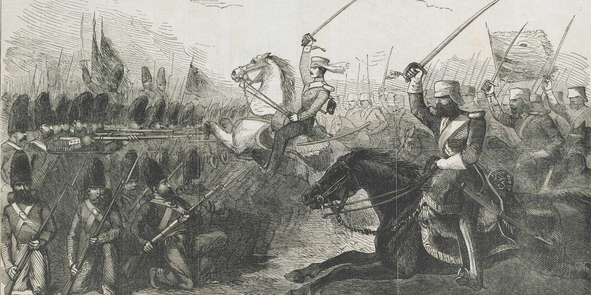 The Battle of Khushab, 1857