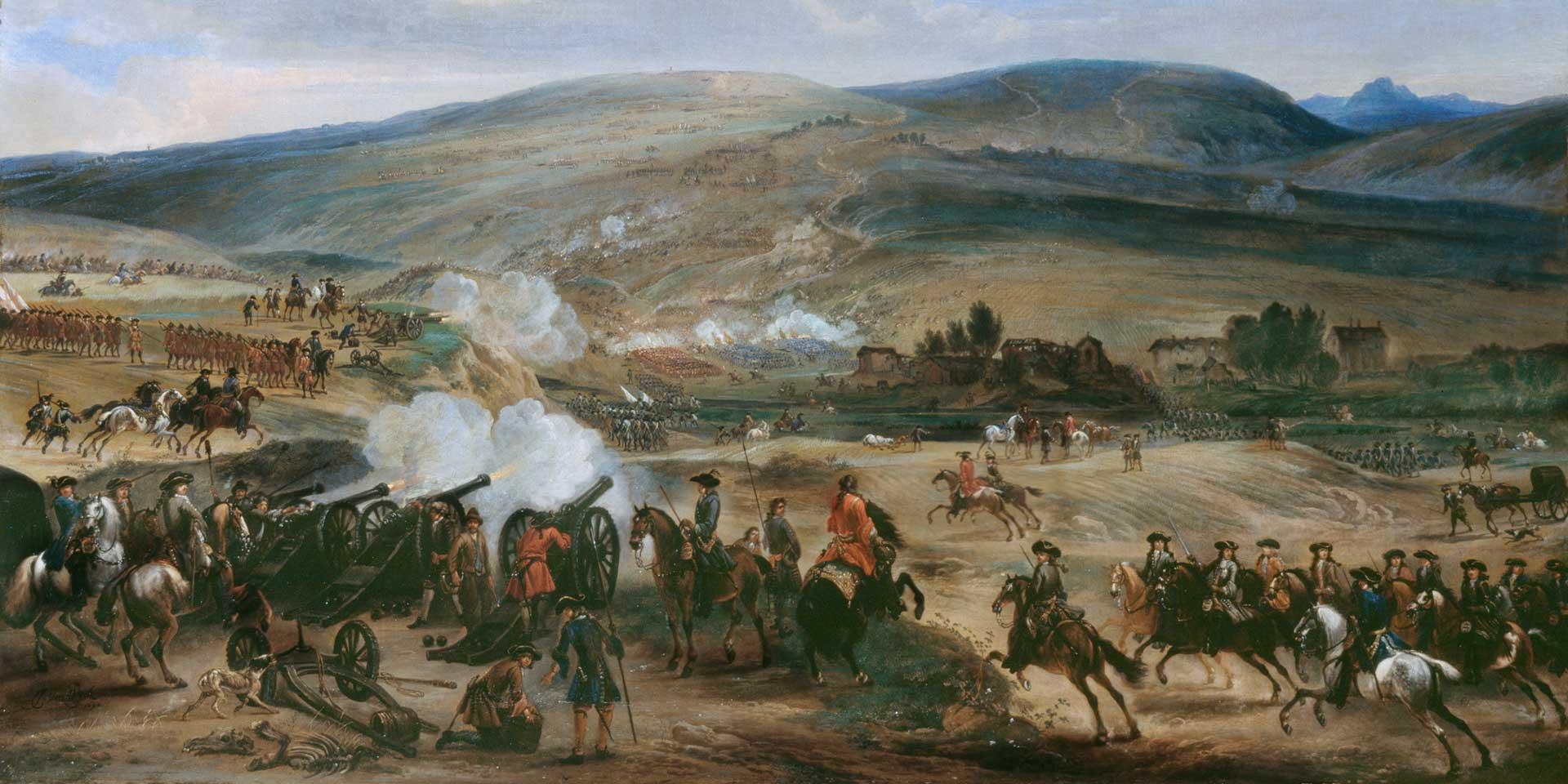 The Battle of the Boyne, 1690