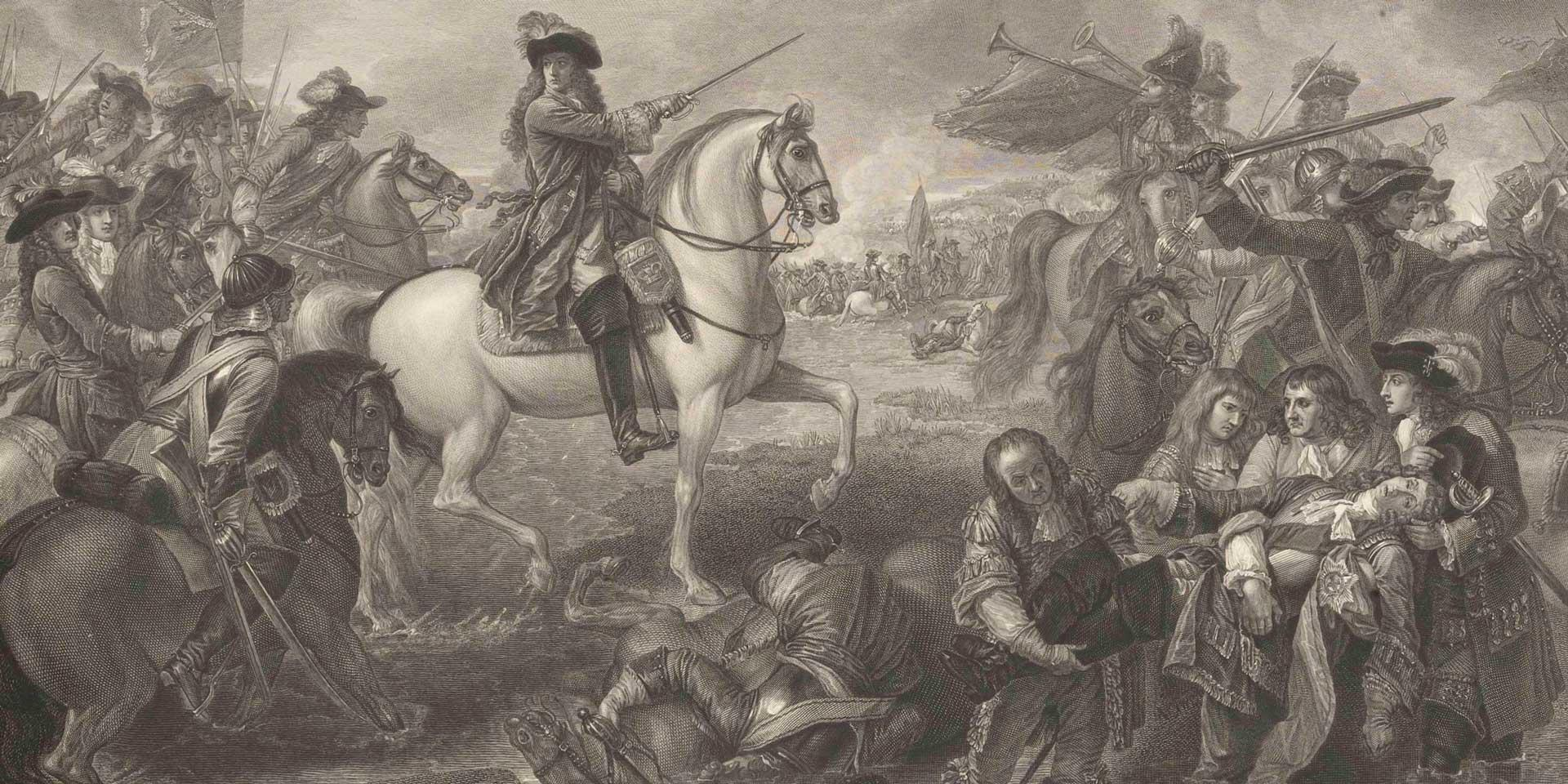 The Battle of the Boyne, 12 July 1690