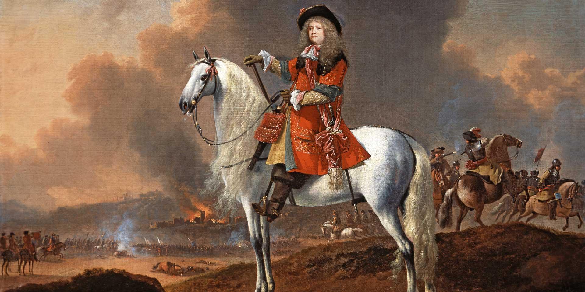 Lieutenant-Colonel Randolph Egerton, The King's Troop of Horse Guards, c1672