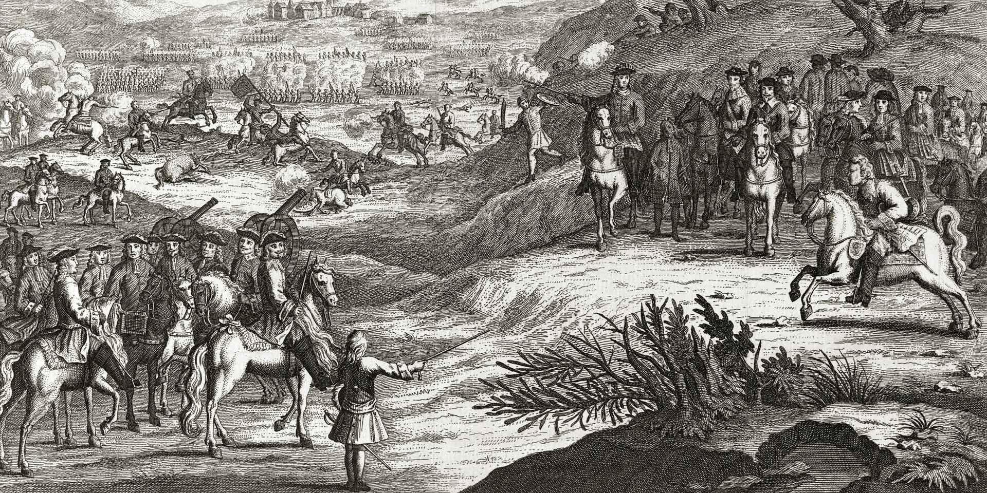 The Battle of Edgehill, 1642