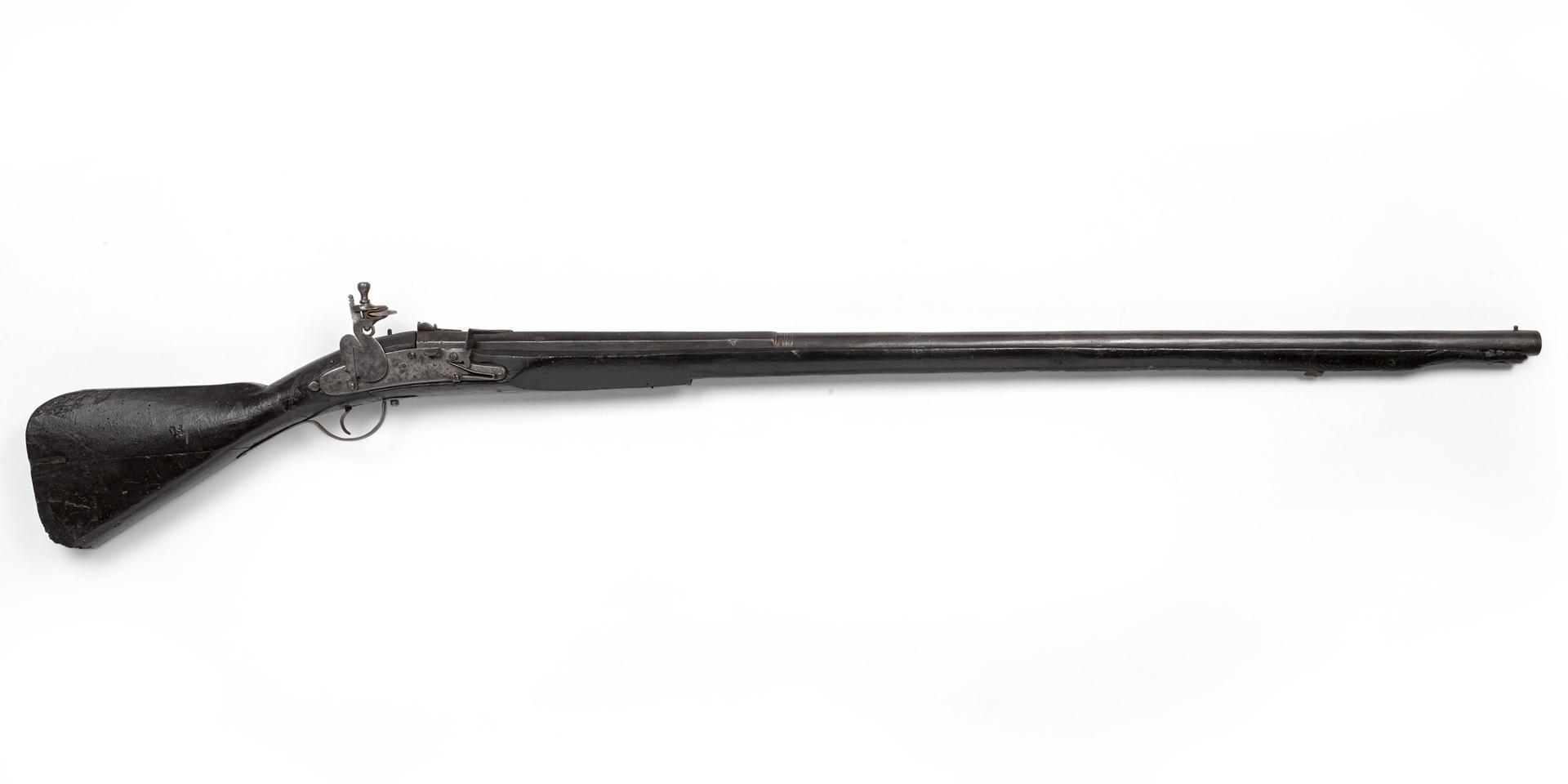 Flintlock English lock musket, c1660