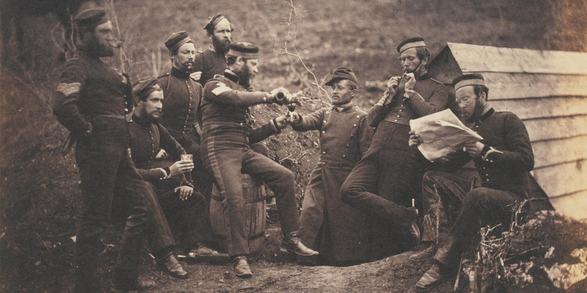 'L'Entente Cordiale', Crimea, 1855