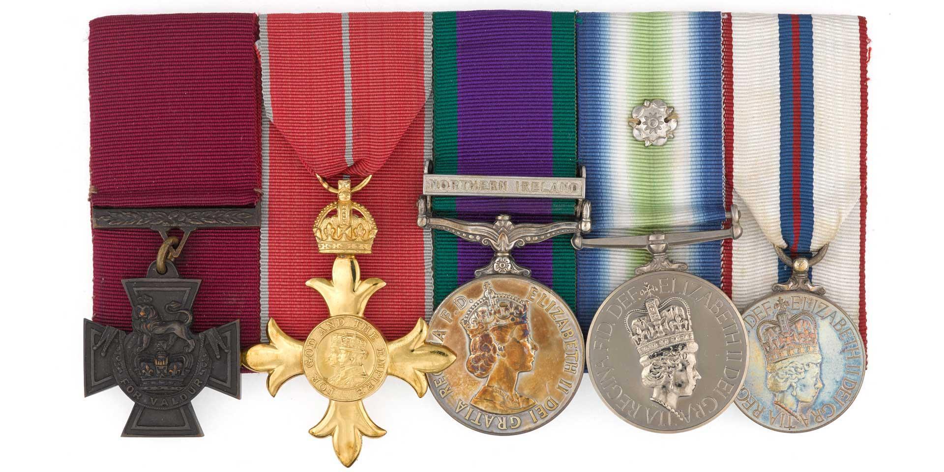 Victoria Cross group awarded to Lieutenant-Colonel Herbert 'H' Jones, 2nd Battalion The Parachute Regiment, 1982