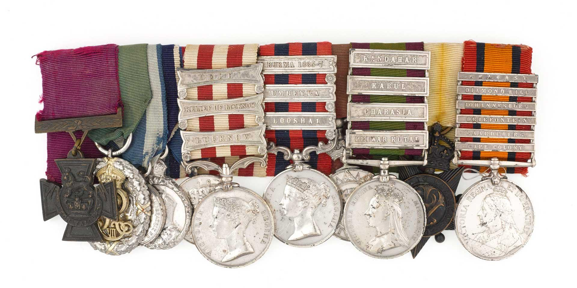 Victoria Cross group awarded to Field Marshal Lord Frederick Sleigh Roberts, 1857-1902