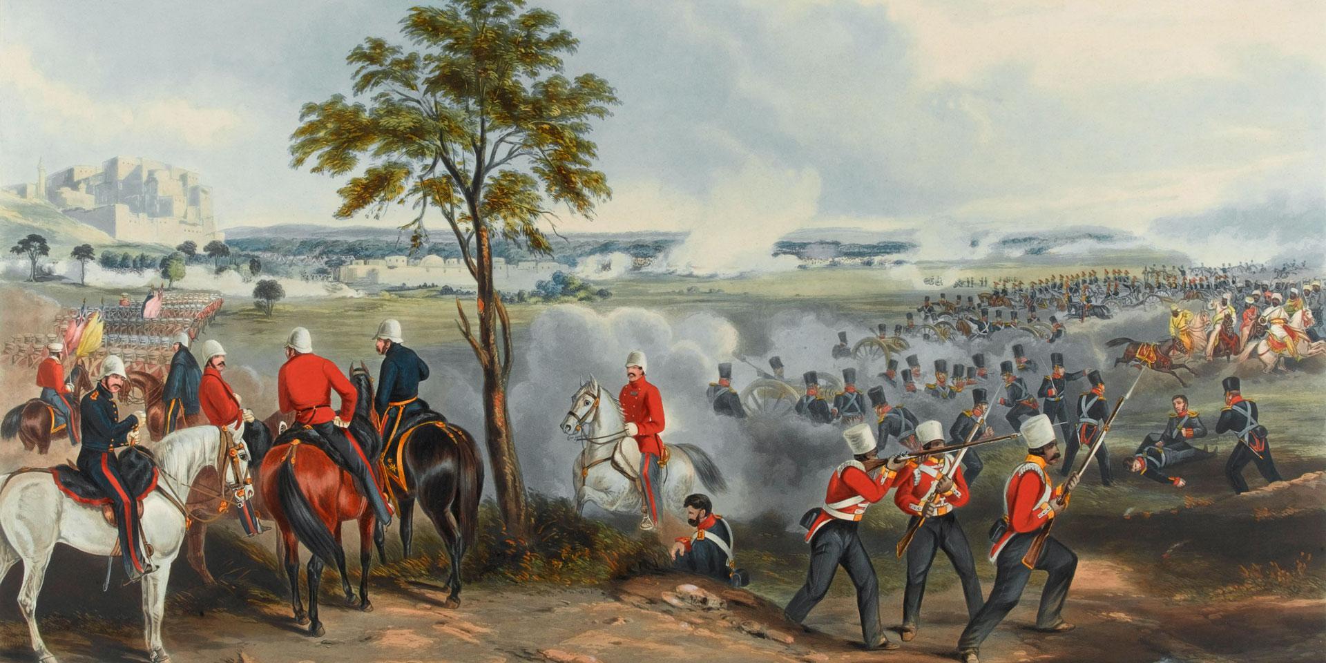 The Battle of Gujerat, 21 February 1849