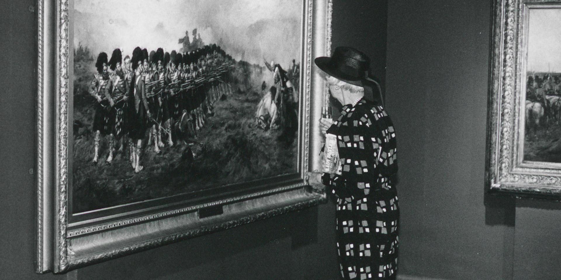 Lady Butler, Battle Artist exhibition, 1987
