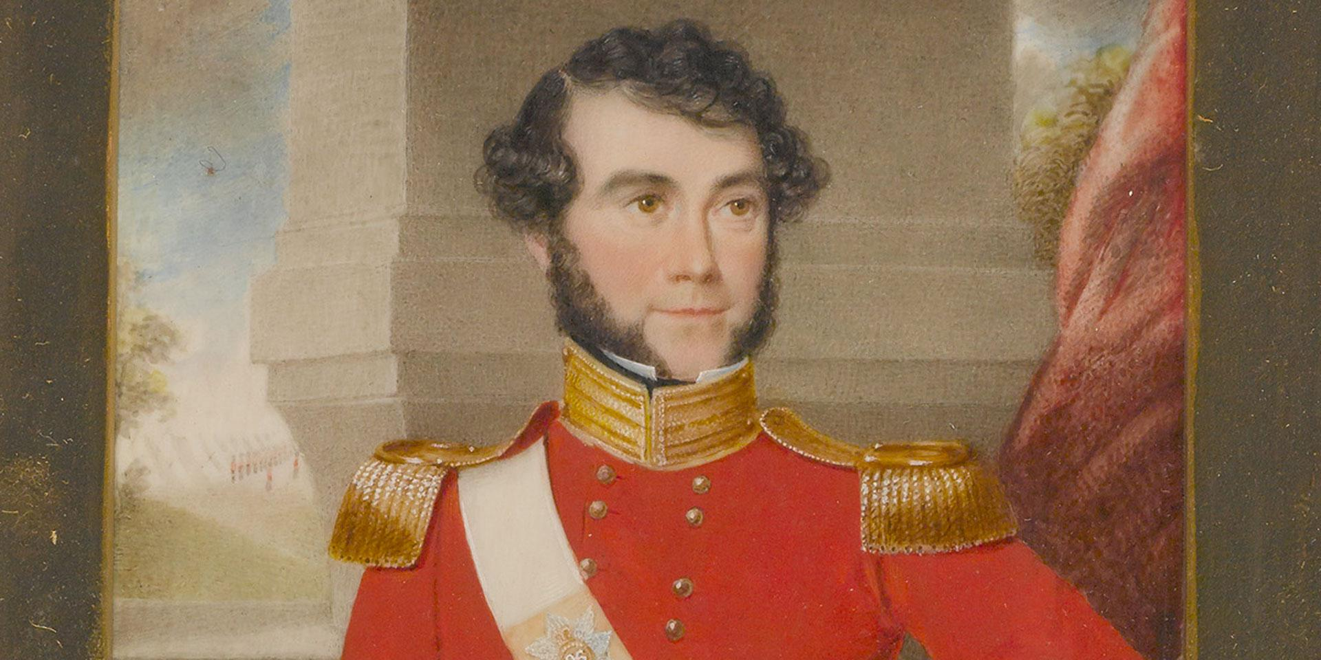 Captain Abbott of the 96th Regiment of Foot, August 1836