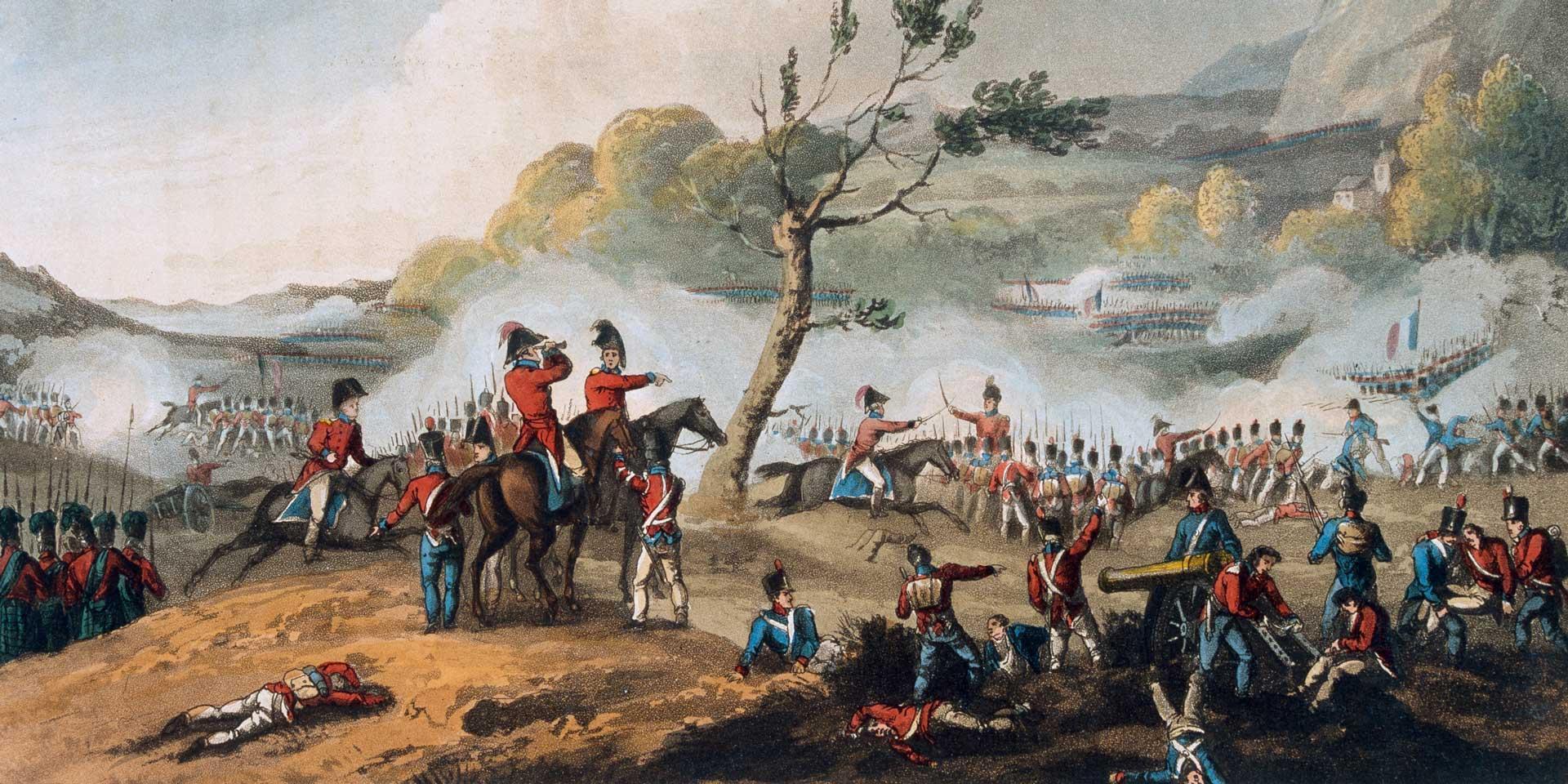 The Battle of Maida, 4 July 1806