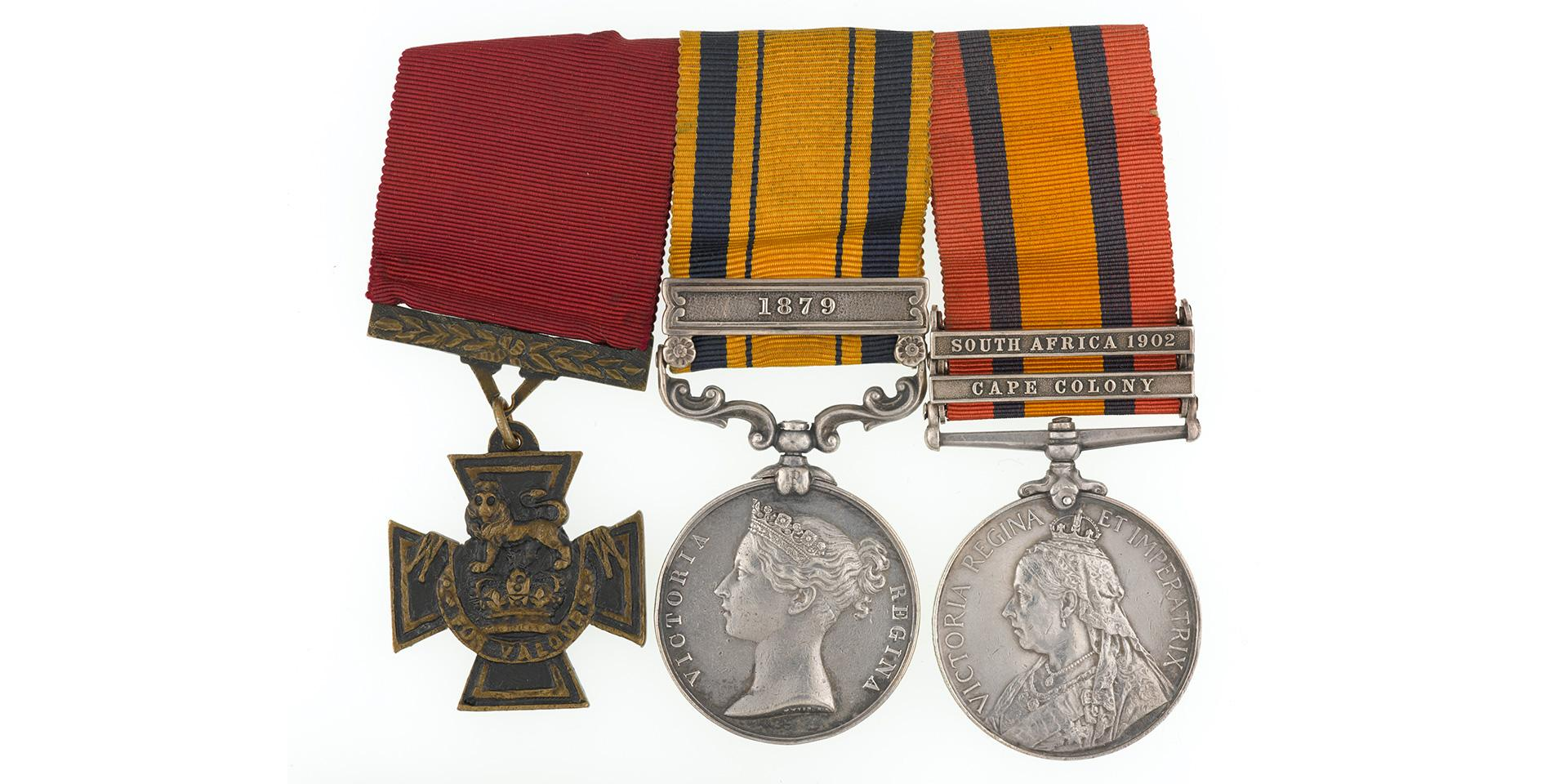 Replacement VC group awarded to Private Francis Fitzpatrick, 94th Regiment, 1879-1900