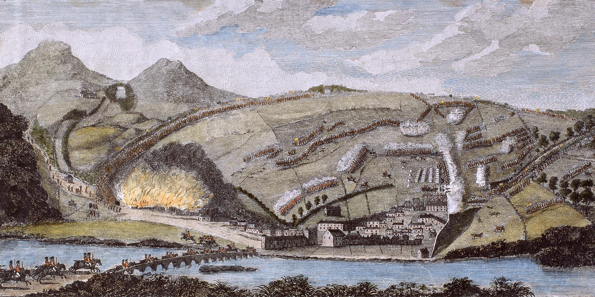 The Battle of Arklow, June 9th 1798