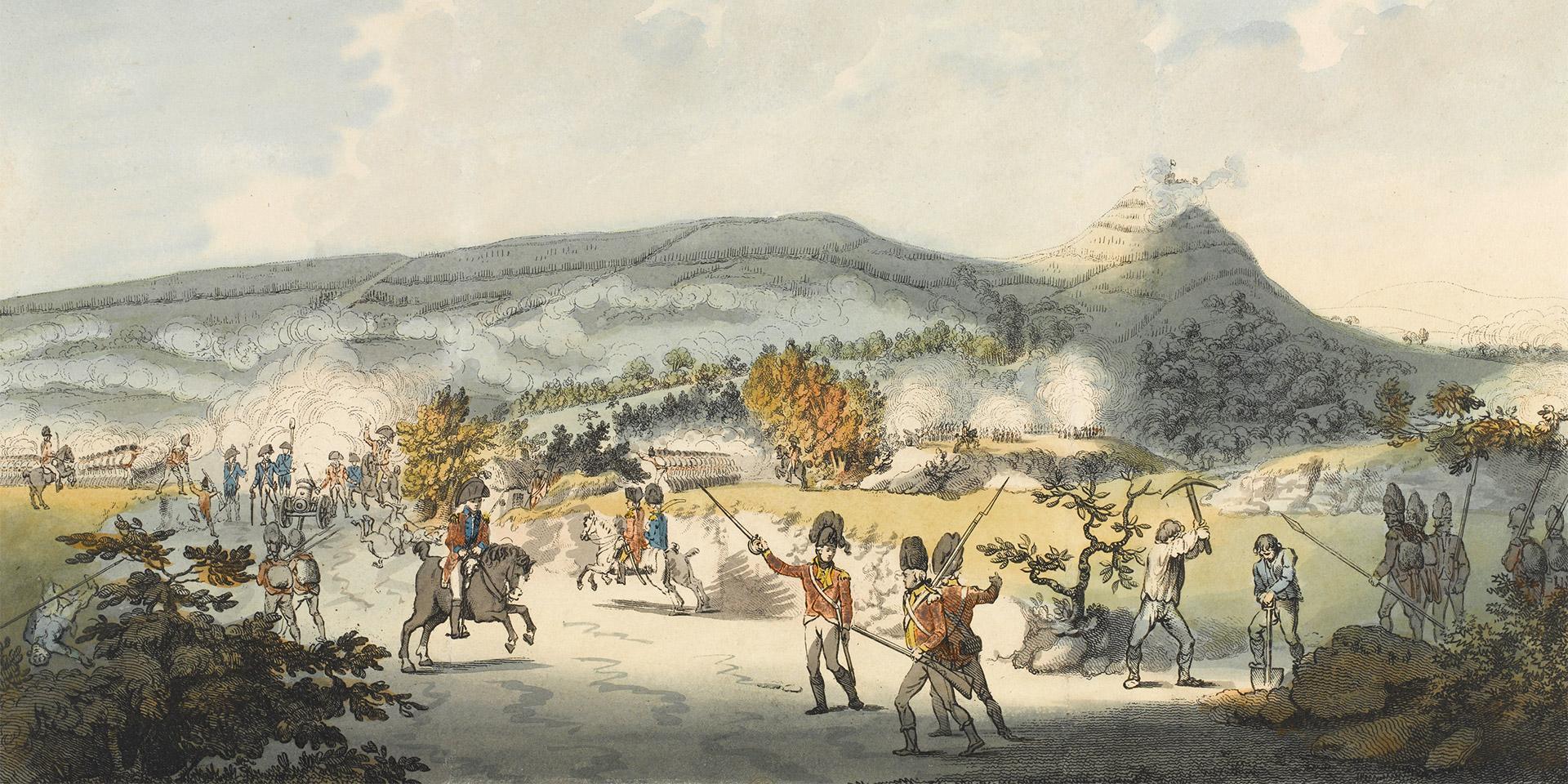 Battle of Vinegar Hill, June 21st 1798