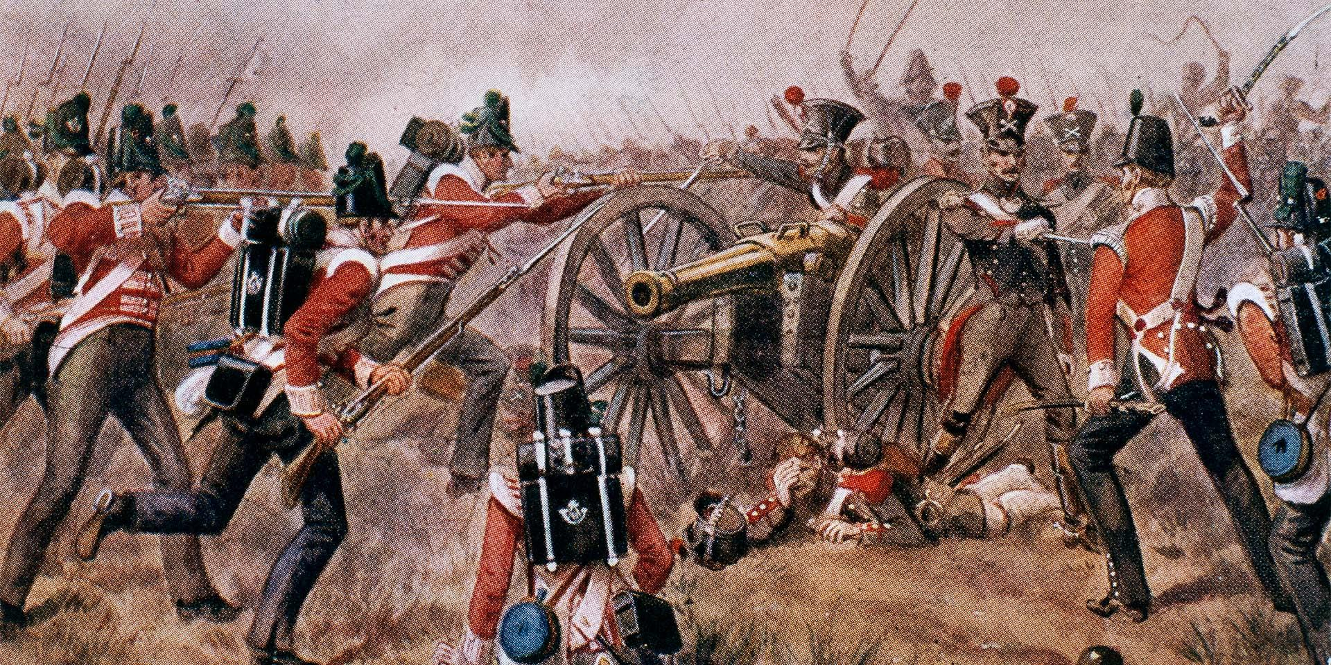 The 43rd (Monmouthshire Light Infantry) Regiment of Foot at Sabagul in the Peninsula, 1811