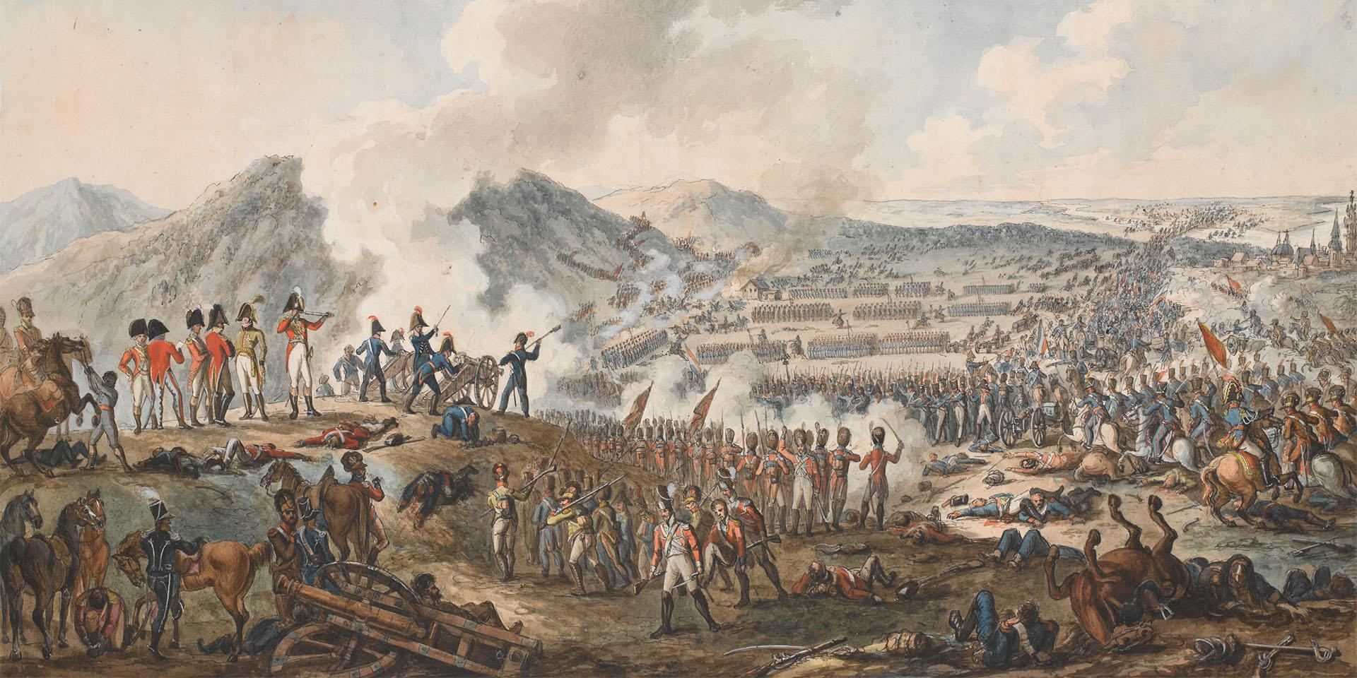 The Battle of Talavera, 28 July 1809