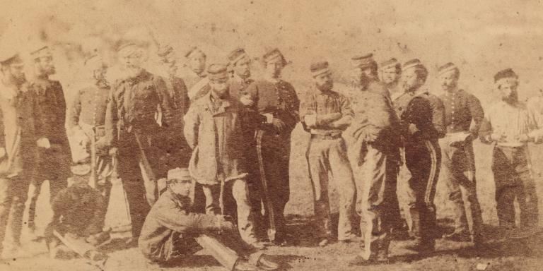 Survivors of the Charge of the Light Brigade, 1854