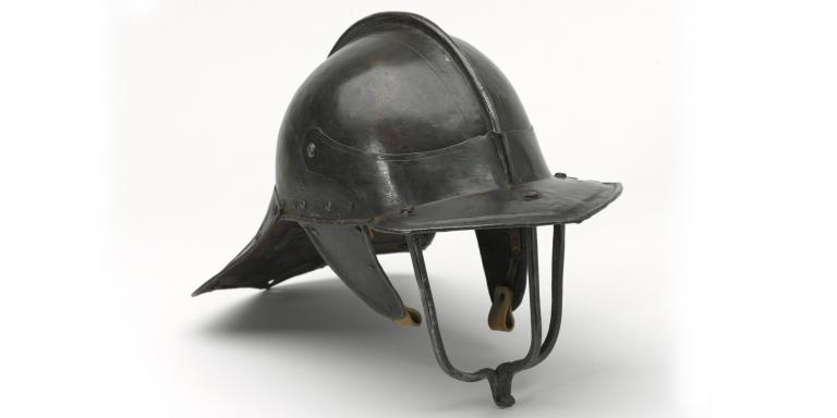 Light cavalryman's lobster pot helmet, 1640