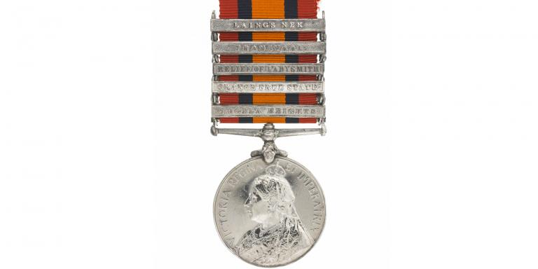 Queen's South Africa Medal 1899-1902 awarded to 'Jimson' the mule