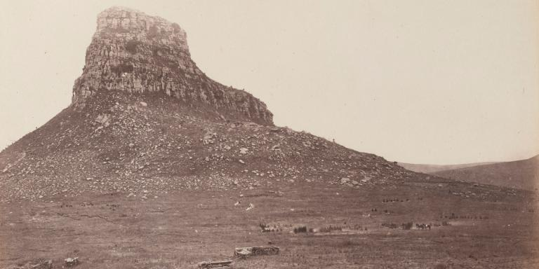 Isandlwana battlefield photographed,  June 1879