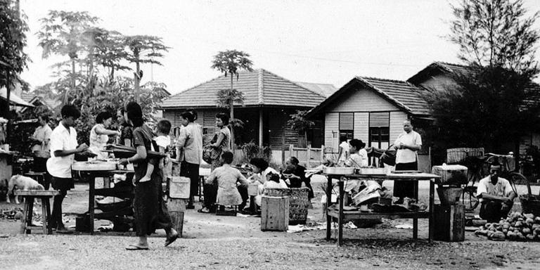The new settlement at Petaling Jaya, 1957