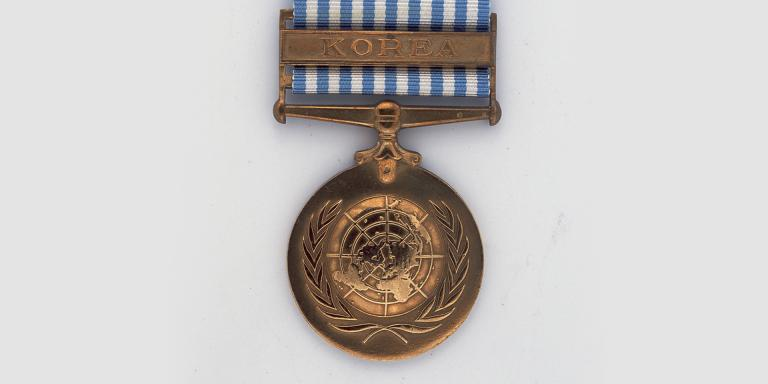 United Nations Korea Medal 1950-1954.