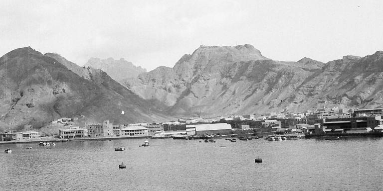 Aden viewed from the sea, 1941