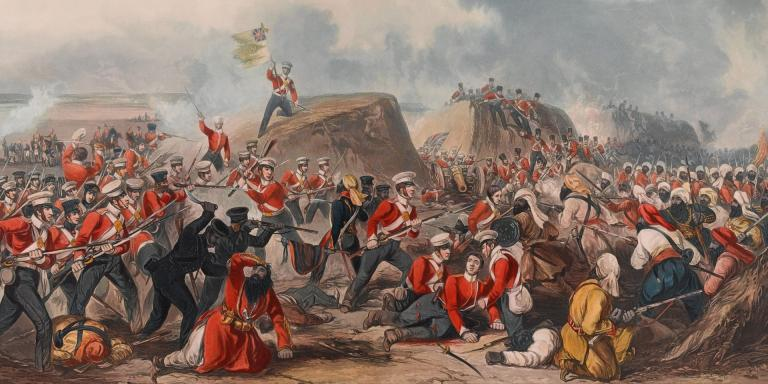 The Battle of Sobraon 10 February 1846