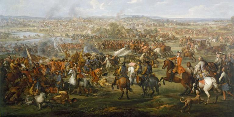 The Battle of Blenheim, 1704