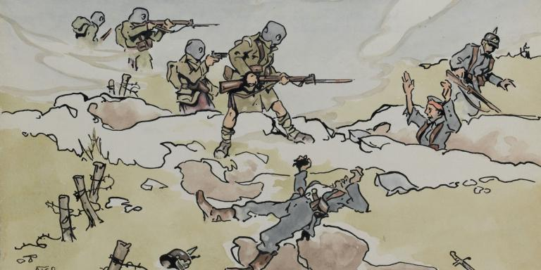5th Camerons at the Battle of Loos, 1915