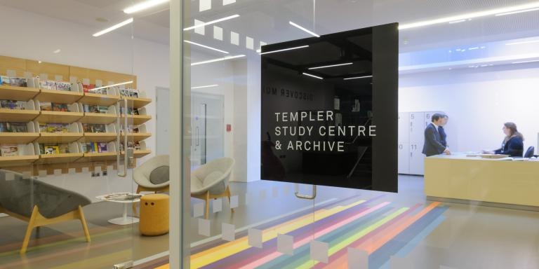 The entrance to the Templer Study Centre