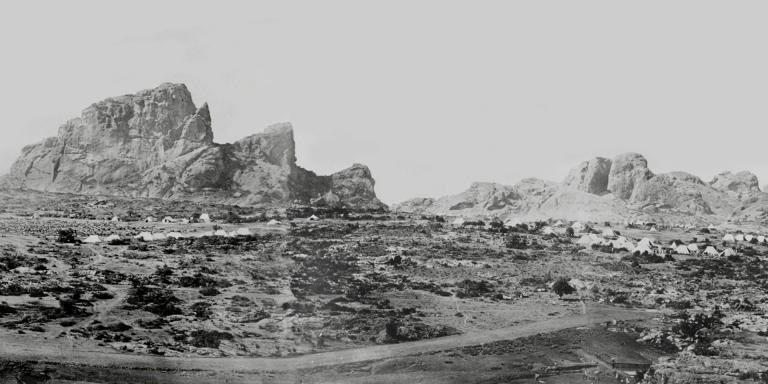 King Theodore's fortress of Magdala, 1868