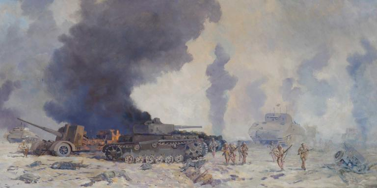 The Battle of El Alamein, 1942