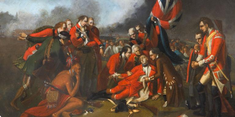 The Death of General Wolfe, 1759