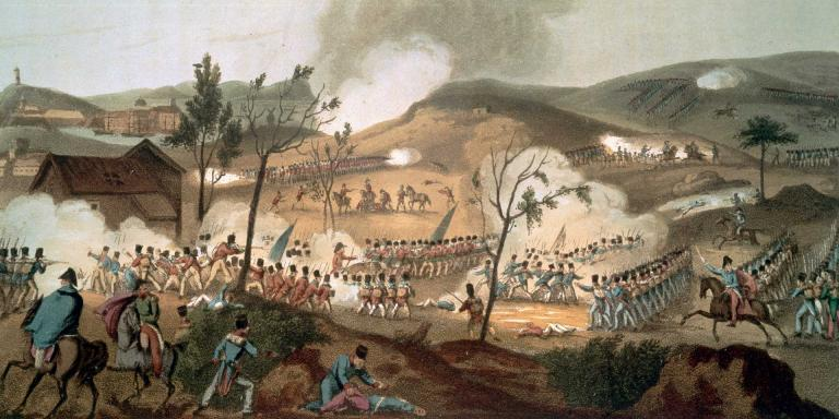 The Battle of Corunna, 16 January 1809