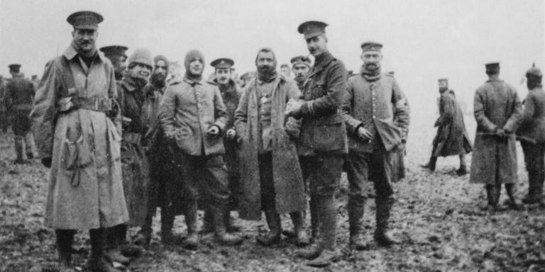 The 1914 Christmas Truce