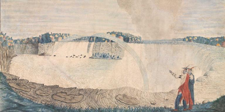 'An East View of the Great Cataract of Niagara', 1762
